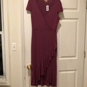 NWT Juicy Couture sexy maxi V neck dress size M